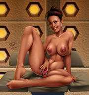 Sexy doctor cartoon