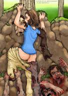 The walking dead porno