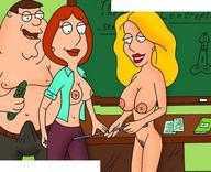 Family Guy Lana Lockhart nackt, High Heels im Freien