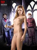 Girls hermione granger fake nude surprised large