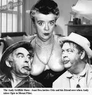 Andy griffith show fake porn - Aunt bea frances bavier hal smith otis  campbell fakes the