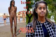 Malia Obama Nude